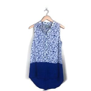Maeve for Anthropologie Silk Tunic Tank